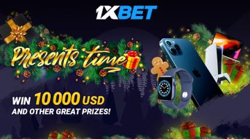 1xBet पर पुरस्कारों का समय: $ 10,000 और अन्य शानदार पुरस्कार और गैजेट प्राप्त करें!